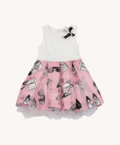 abito stampa rosa2